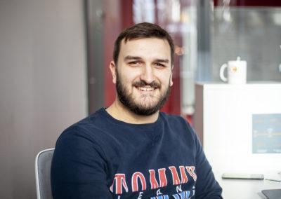 Maxime, Robotics Trainee